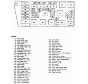 2003 Buick Rendezvous Fuse Box Diagram  Image 15