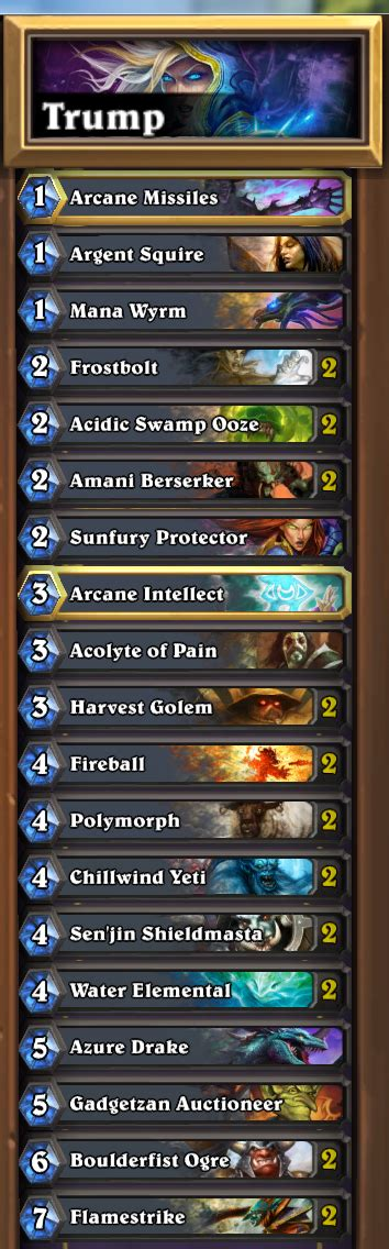hearthstone aggro deck hearthstone how can i make my mage deck more resistant