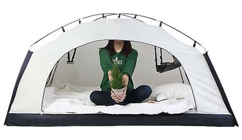 high winter heating bills get this bed tent for grown ups room in room bed tent makes your bed warm in winter