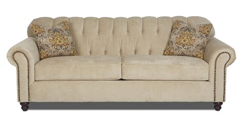 traditional rolled arm sofa traditional stationary sofa with rolled arms and nailhead
