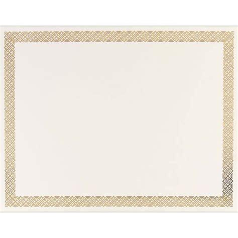 certificate paper template braided foil certificate paper paper