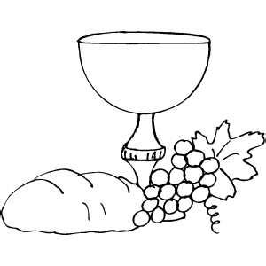 chalice communion symbols coloring pages coloring pages