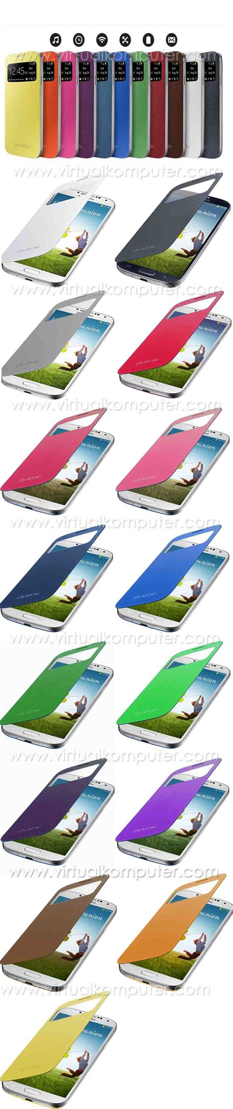 Jelly For Xiao Mi Note 2 areahp flip cover s view for samsung galaxy s4 i9500