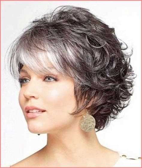 haitcuts for wavy 50 year old women hairstyle 2015 183 short curly hairstyle with short bangs