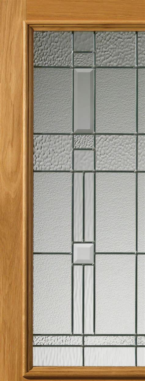 Thermal Front Doors Piedmont Glazed Thermal External Oak Sidelight