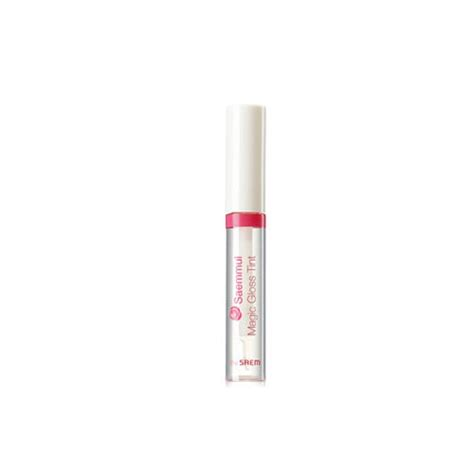 the saem lip tint remover the saem saemmul magic gloss tint the saem lip tint