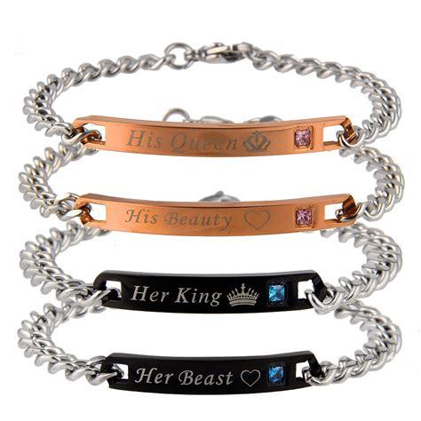 valentines day bracelets titanium steel chain s day bracelet