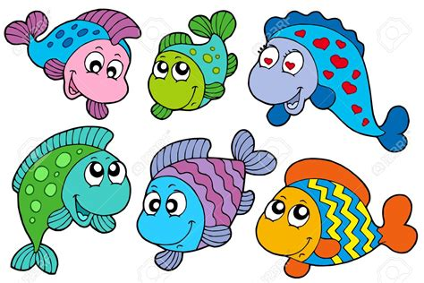 pesci clipart pesci e fondali marini disegni da colorare