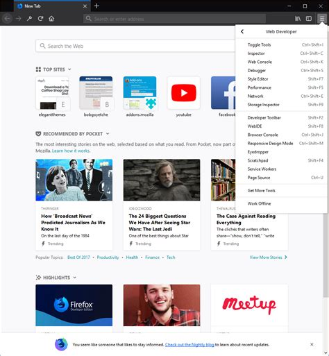 themes firefox developer firefox developer edition can it replace google chrome