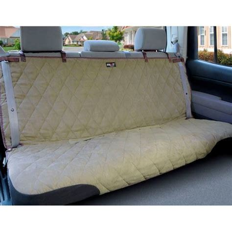 solvit bench seat cover solvit sta put deluxe bench dog car seat cover dogculture