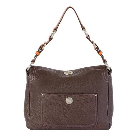 Coach Chelsea Vintage Leather Satchel by Coach Chelsea Pebbled Leather Turnlock Hobo Handbag