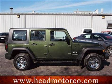Jeep Right Drive Package Find Used Right Drive 2009 Jeep Wrangler Unltd 4 Dr