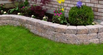 the garden accent retaining wall system is the right choice for sturdy raised garden beds and