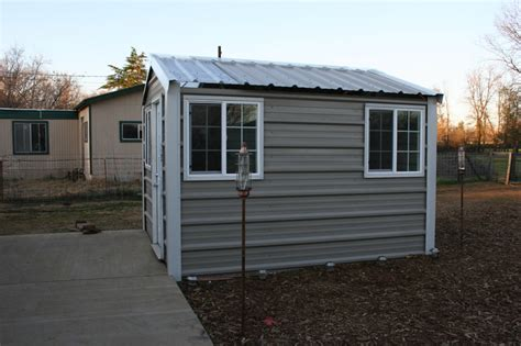 Tin Garden Sheds by Metal Garden Sheds By Metals Direct Inc