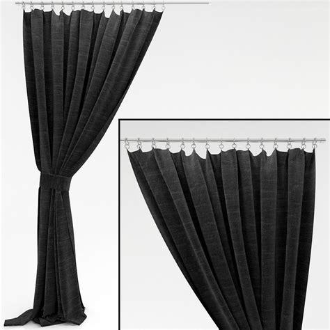 window curtain models curtains 23 3d model max obj fbx cgtrader com