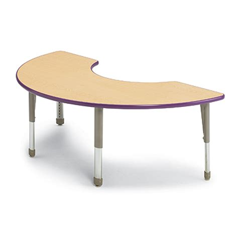 Half Moon Table Half Moon Activity Table Classroom Tables Smith System