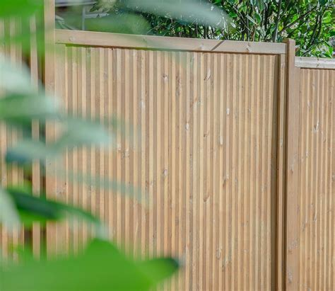 Forest Fencing Trellis Forest Noise Reduction Fence Panel Gardensite Co Uk
