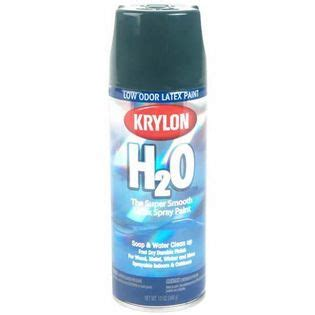 spray paint specification krylon h2o river green tools painting