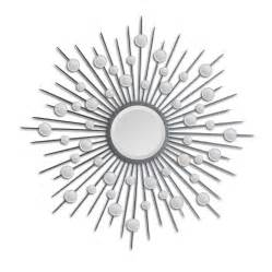 Foosball Table Reviews by Ren Wil Starburst Mirror In Silver Mt798