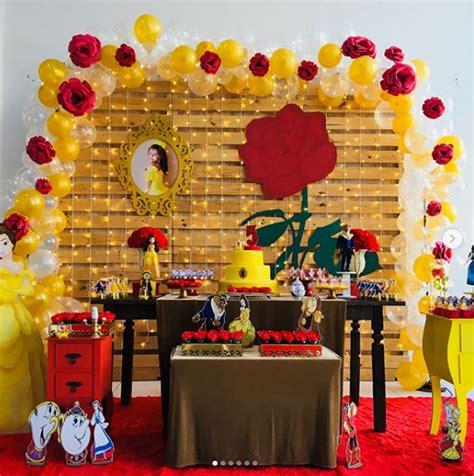 decoracion la bella y la bestia fiesta tem 225 tica bella y la bestia