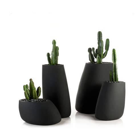 Vondom Planters stones ke zu furniture residential and contract