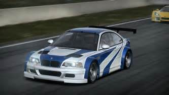 bmw m3 gtr most wanted image 3