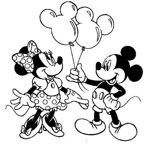 Mickey Mouse Coloring Pages For Printable by Free Disney Minnie Mouse Coloring Pages