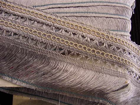 Upholstery Trim Italian 3 5 Quot Wide Fringe Trim Made In Italy Vintage