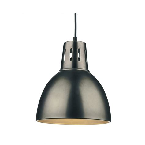 Chrome Pendant Light Osaka Easy Fit Antique Chrome Ceiling Pendant Light