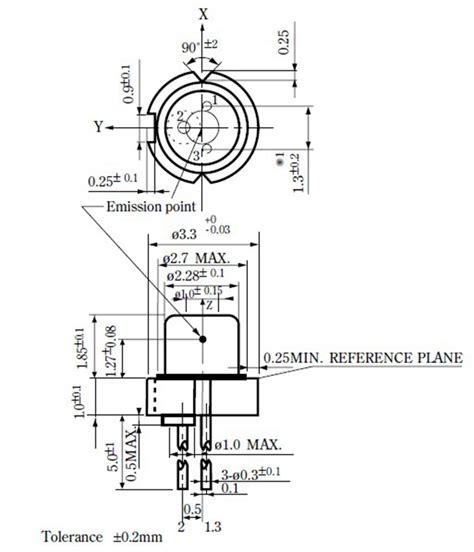 sharp blue laser diode sharp gh0780ma4c 785nm 100mw φ3 3 laser diode