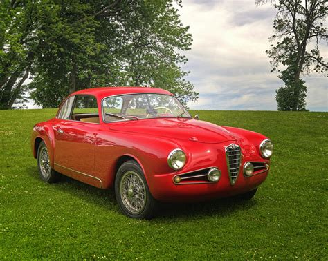 Alfa Romeo Superleggera by Alfa Romeo Superleggera Touring Photograph By Claudio