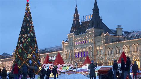 images of christmas in russia pictures trees around the world cbbc newsround