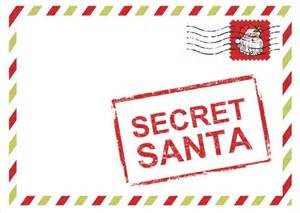 For the past four years darcy has organized the secret santa at her