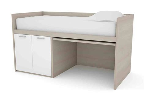 Space Saving Desk Bed bed desk smart compact bed pull out desk