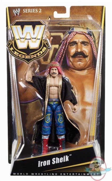 wwe legends series  iron sheik figure mattel toy man