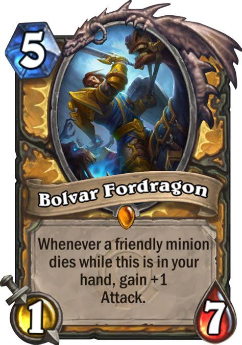 Bolvar Fordragon Meme - bolvar fordragon hearthstone card
