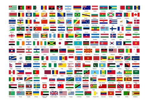 all flags of the world printable flags of the world