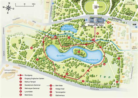 Englischer Garten München Karte by Schlosspark Gotha