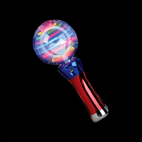 Flip Spinner Light Otomatis Led new light up spinning led wand