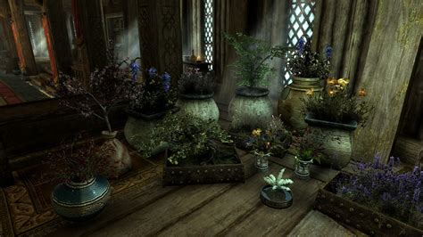 house decorations plants and flowers at skyrim nexus