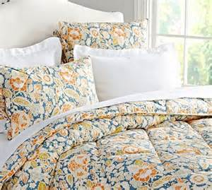 pottery barn comforters maggie floral comforter sham pottery barn