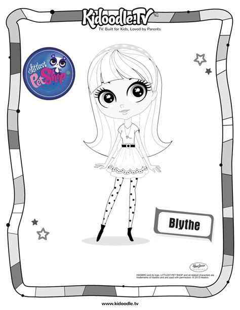 lps blythe coloring pages 64 best images about blythe doll illustrations on