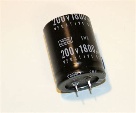 electrolytic capacitor nippon 1800uf 200v snap in new japan for ebay