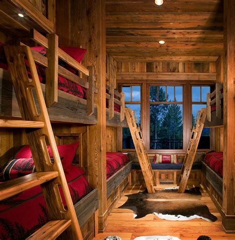 bunk room ideas rustic kids bedrooms 20 creative cozy design ideas