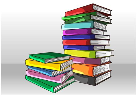 stack of books picture stack of books vector free vector stock