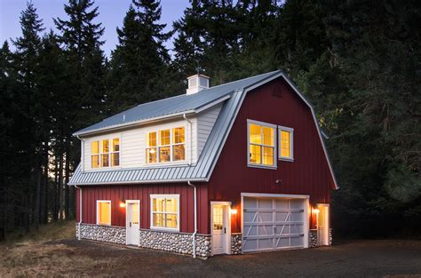 metal barn style homes metal barn homes the new trend in residential constructions