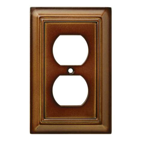 decorative outlet covers hton bay architectural decorative single duplex outlet