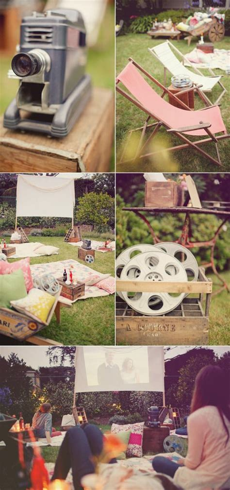 backyard movie party more backyard movie night ideas dinner parties pinterest