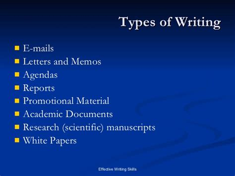 Different Types Of Business Letter And Its Uses writing skills written communication
