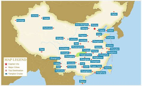 china city maps maps  major cities  china